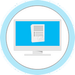 worksheet completion videos icon